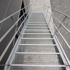 Лестничные ступени железные книжный магазин на жби