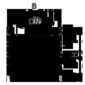 Лоток водоотводный пластиковый ЛВП Profi DN100 комплект, чертеж
